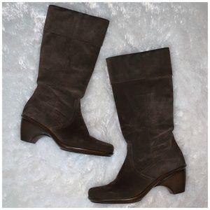 Dansko Risa brown suede boots size 40 / 10